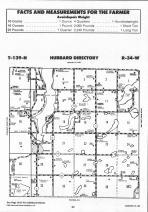 Hubbard T139N-R34W, Hubbard County 1992 Published by Farm and Home Publishers, LTD
